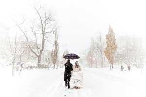 Winterbruiloft