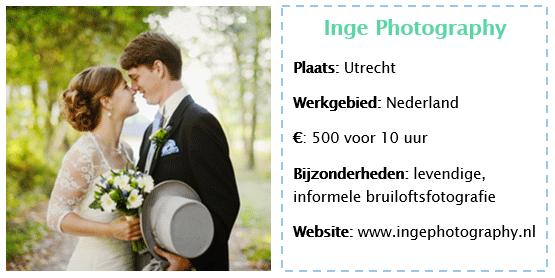 Favoriete trouwfotografen Bruiloft Inspiratie