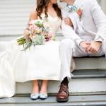 Het samenstellen van een bruidsboeket