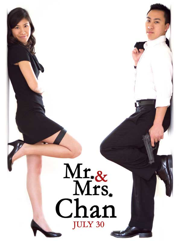 Save the date Mr. & Mrs. Smith