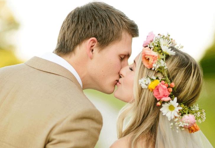 haar voor bruiloft