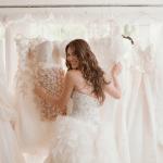 Eén bruid, twee trouwjurken