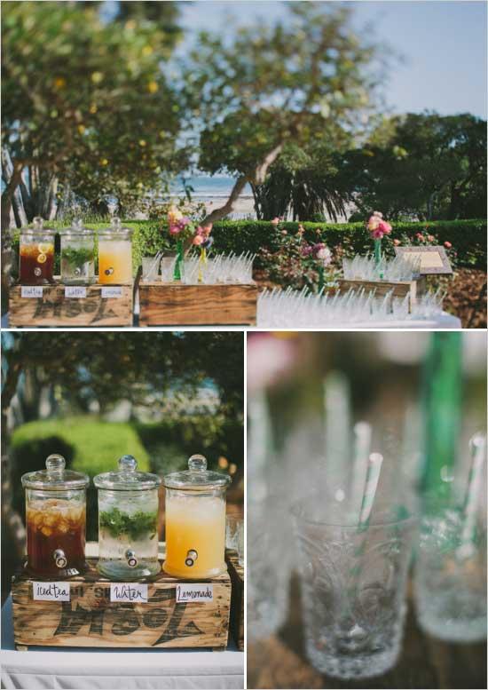 Bruiloft drankjes