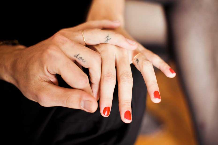 Trouwringen tatoeëren