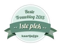 Badge groen beste trouwblog 1