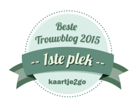 Badge groen beste trouwblog 1