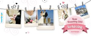 Nominatie Bruiloft Inspiratie voor Beste Trouwblog 2015