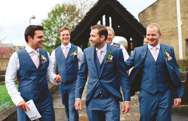 Kleding gast bruiloft man