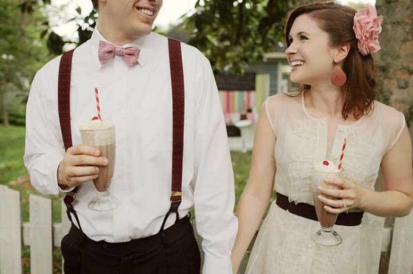 Vintage milkshakebar