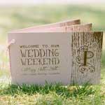 Uitnodiging voor een trouwweekend
