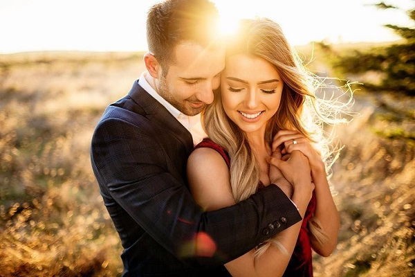 Pre-wedding shoot in de zon