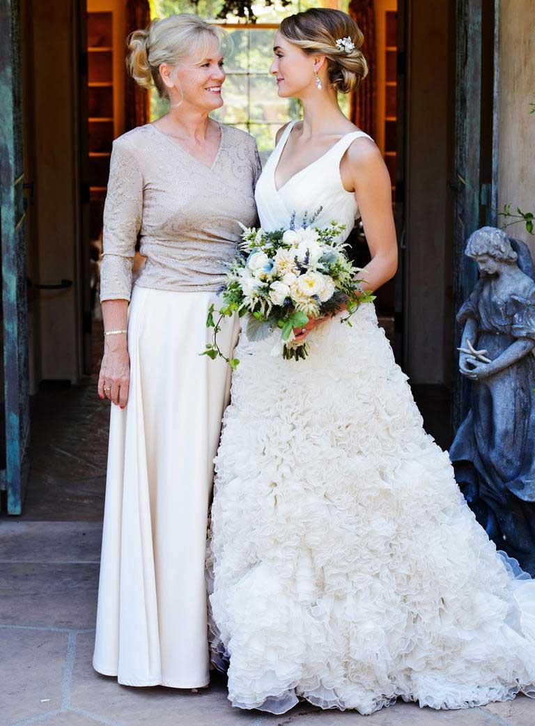 outfit moeder van de bruid