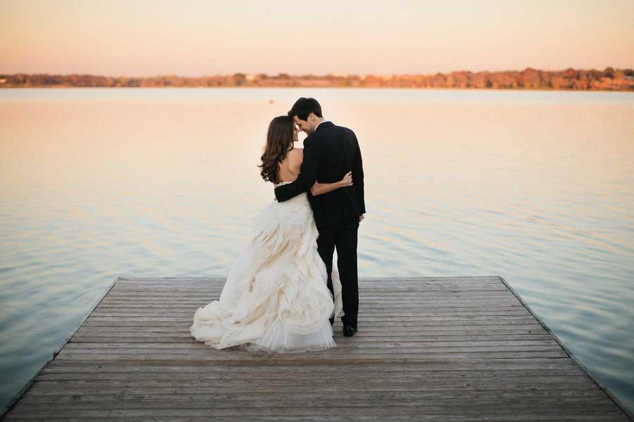 Bruiloft over meerdere dagen verspreiden