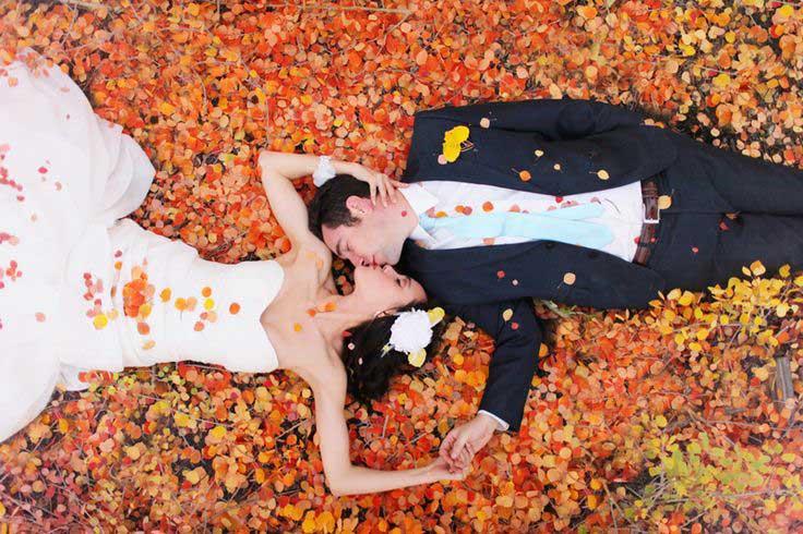 Herfst bruiloft inspiratie