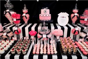 Dessert buffet tafel