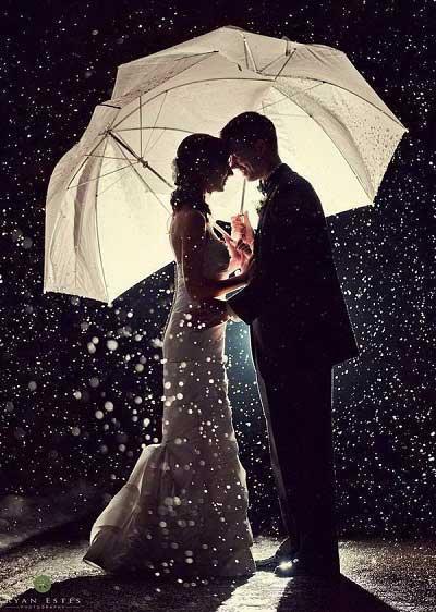 Regen bruiloft_Bruiloft Inspiratie