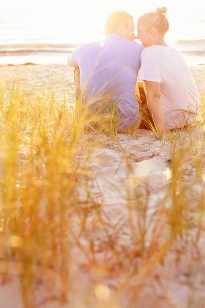Verlovingsshoot op het strand