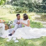 Bruiloft picknick