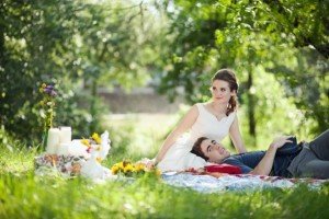 Picknick bruiloft