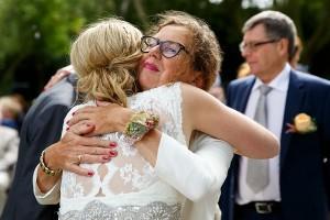 Felicitatierij op een bruiloft