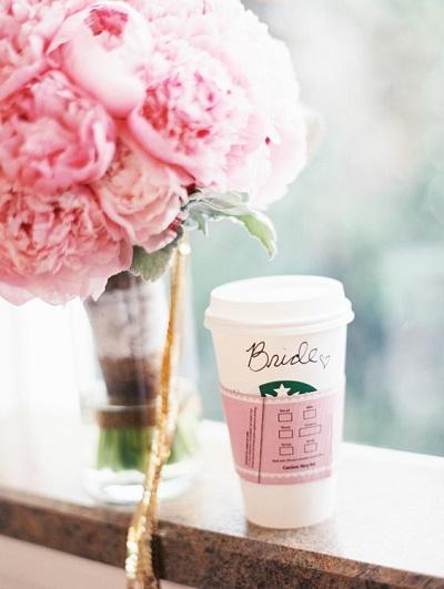 Starbucks koffie bruid