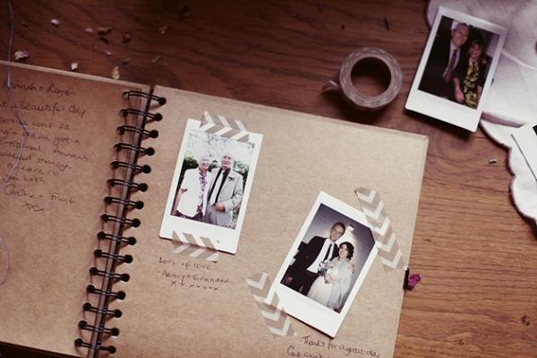 Beroemd Gastenboek met foto´s - Bruiloft Inspiratie @JA56