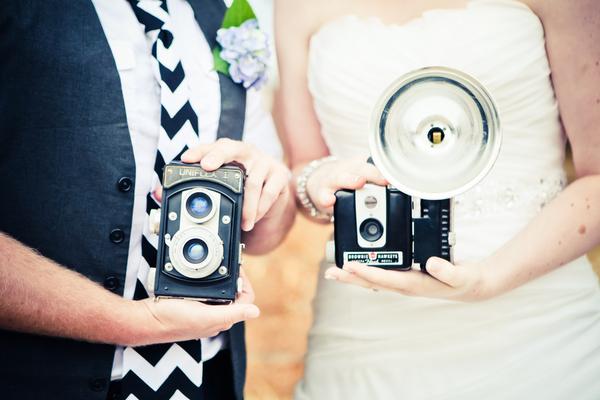 Foto´s tijdens de bruiloft