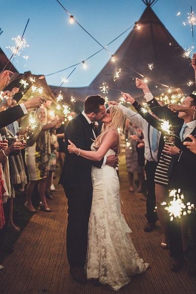 Afsluiting bruiloft