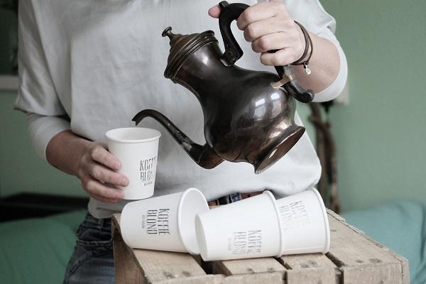 Retro koffie Koffieblond