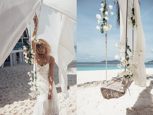 Bruidsjurken voor op het strand bruiloft inspiratie