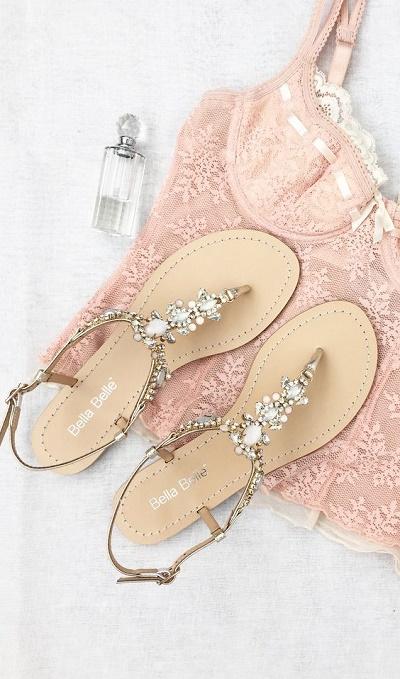 Sandaaltjes trouwschoenen