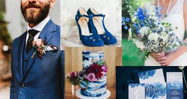 Afbeeldingsresultaat voor bruiloft blauw