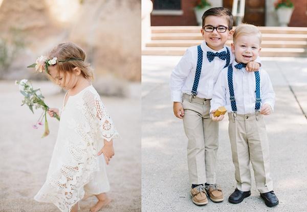 Kinderen op bruiloft
