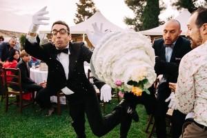 Bruiloft verpesten