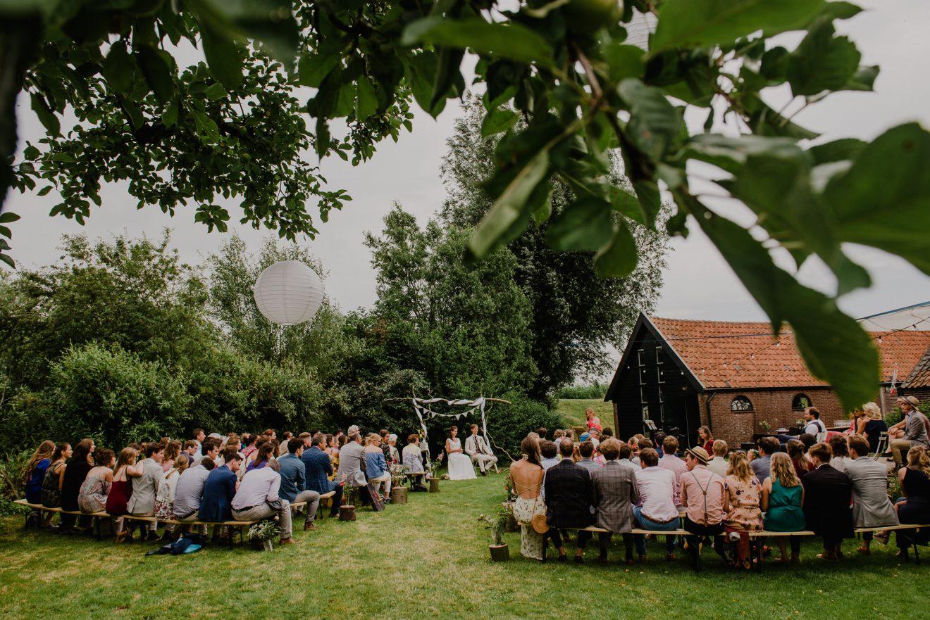 Bruiloft boerderij