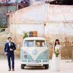 Volkswagenbusje bruiloft
