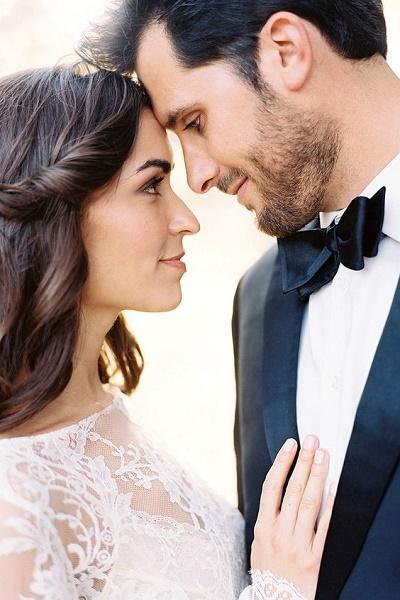 Inspiratie bruid en bruidegom