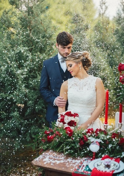 Kerst bruiloft
