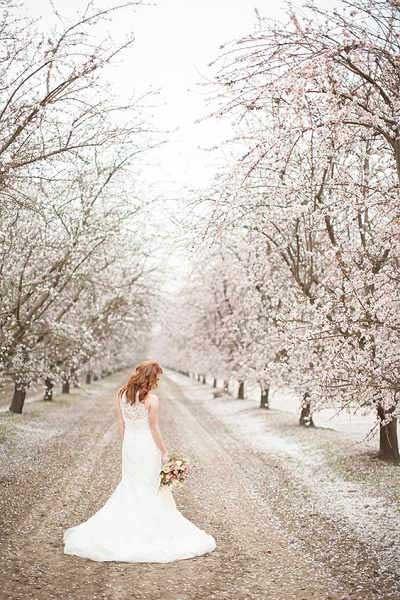 Bloesembomen lente bruiloft