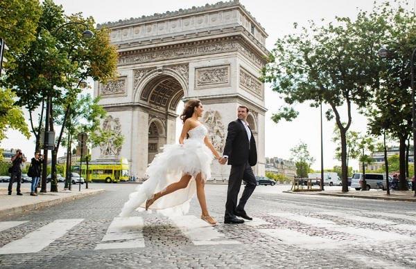 Trouwfoto Parijs