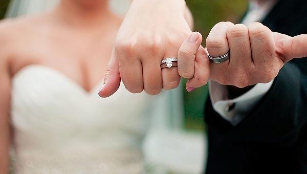 Trouwringen bruidspaar
