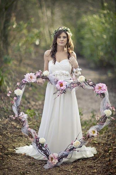 Valentijn hart bruid