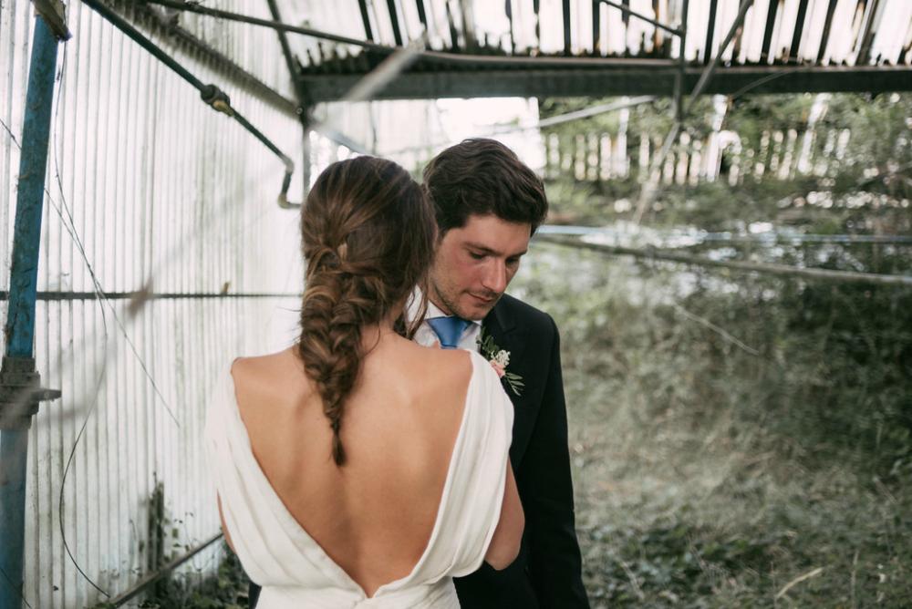 Bruid met vlecht