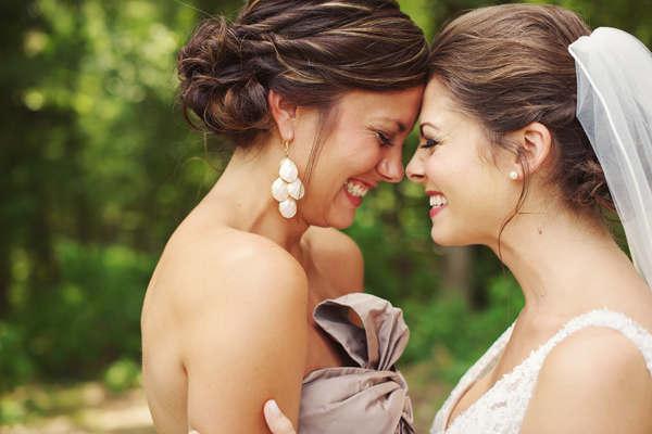 Ceremoniemeester en bruid