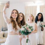 Tips voor het maken van de perfecte bruiloft selfie