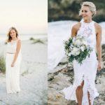 6 Prachtige trouwjurken voor een bruiloft op het strand