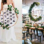 Leuk DIY project: Hoepel als bruiloft decoratie