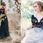 Een zwarte trouwjurk? Deze bruiden laten zien hoe mooi dat kan zijn!