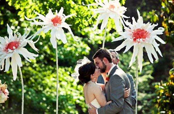 DIY bruiloft ceremonie