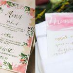 Handlettering als sierlijke toevoeging op jullie bruiloft